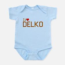 I Heart Delko Infant Bodysuit