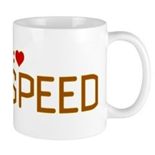 I Heart Speed Mug