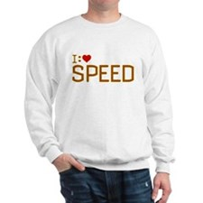 I Heart Speed Sweatshirt