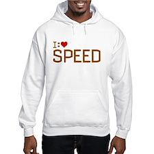 I Heart Speed Hoodie