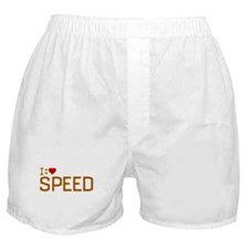 I Heart Speed Boxer Shorts