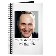 Chuck Schumer Shoot your eye out Journal