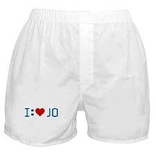 I Heart Jo Boxer Shorts