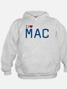 I Heart Mac Hoodie