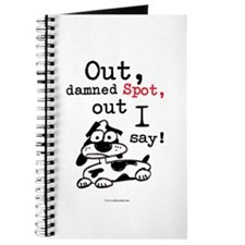 Out Damned Spot Journal