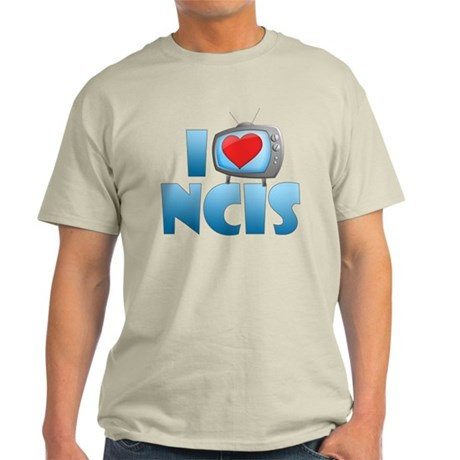 I Heart NCIS Light T-Shirt