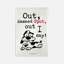 Out Damned Spot Rectangle Magnet