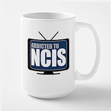 Addicted to NCIS Large Mug