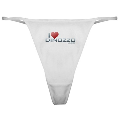 I Heart DiNozzo Classic Thong