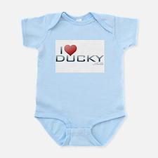 I Heart Ducky Infant Bodysuit