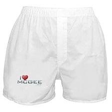 I Heart McGee Boxer Shorts