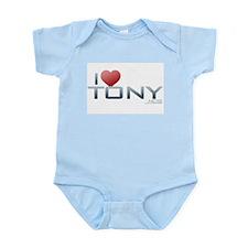 I Heart Tony Infant Bodysuit