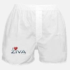 I Heart Ziva Boxer Shorts