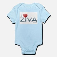 I Heart Ziva Infant Bodysuit