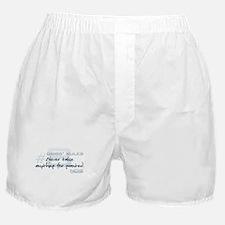 Gibbs' Rules #8 Boxer Shorts