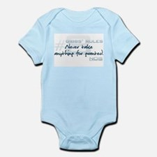 Gibbs' Rules #8 Infant Bodysuit