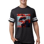 Girlbrarian Women's Plus Size V-Neck Dark T-Shirt
