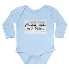 Gibbs' Rules #15 Long Sleeve Infant Bodysuit
