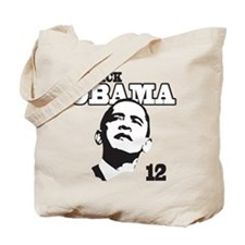 Barack Obama 12 Tote Bag