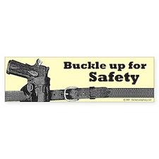 Buckle Up (10x3 Sticker)