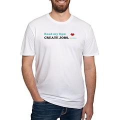 Read My Lips: CREATE JOBS. Shirt