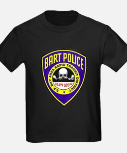 BART Police Death Squad T