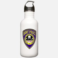 BART Police Death Squad Water Bottle
