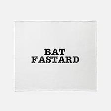 BAT FASTARD 2 Throw Blanket