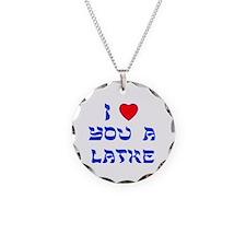 I Love You a Latke Necklace