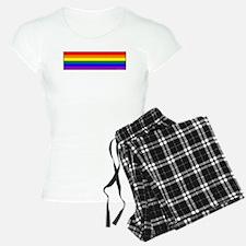 Rainbow Pride Flag pajamas