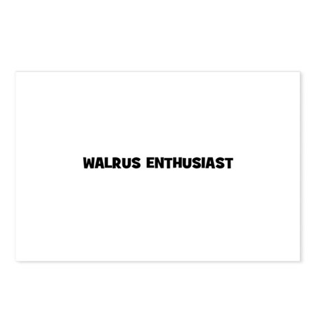 Walrus Enthusiast Postcards (Package of 8)