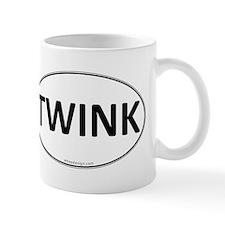 TWINK Euro Oval Mug