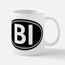 BI Black Euro Oval Mug