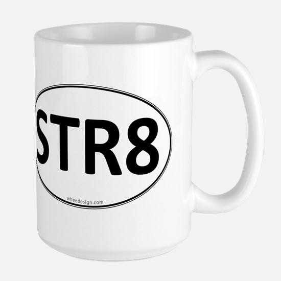 STR8 Euro Oval Large Mug