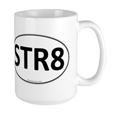 STR8 Euro Oval Mug