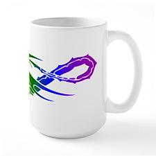Rainbow Pride Dragon Mug