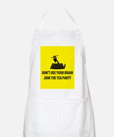 Don't Use Your Brain Apron