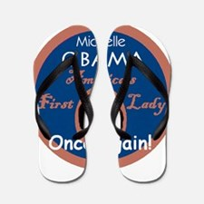 Michelle First Lady 2012 Flip Flops