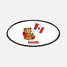 Canada Teddy Bear Patches