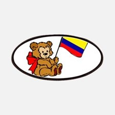 Colombia Teddy Bear Patches
