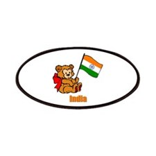 India Teddy Bear Patches
