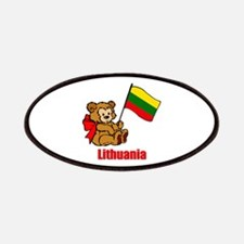 Lithuania Teddy Bear Patches