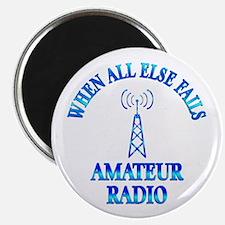 "Amateur Radio 2.25"" Magnet (100 pack)"