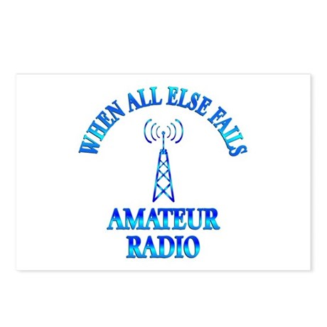Amateur Radio Postcards (Package of 8)