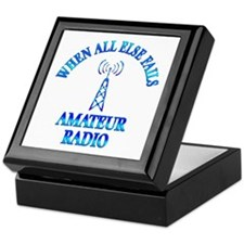 Amateur Radio Keepsake Box