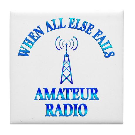Amateur Radio Tile Coaster