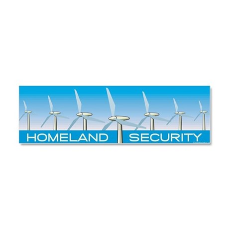 Wind Power for America Car Magnet 10 x 3