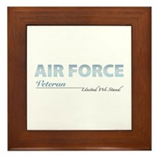 Air Force Veteran Framed Tile