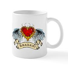 Really? Winged Heart Mug