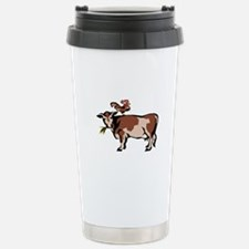Brown Chicken Brown Cow 3 Travel Mug